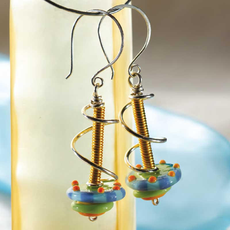 Lampworking Glass: Using Glass Beads in Finished Jewelry Designs