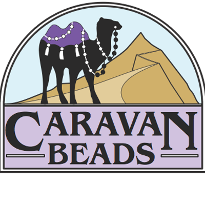 Caravan Beads Logo: Top Interweave Beading Site