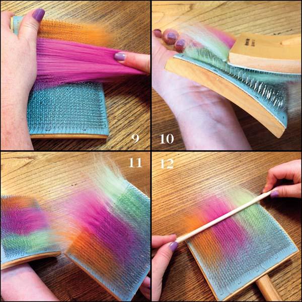 Carding Wool Punis
