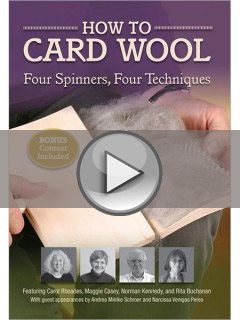 Learn How to Card Wool with this Tutorial Video