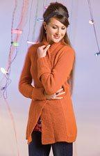 Carrot Cardigan Knitting Pattern