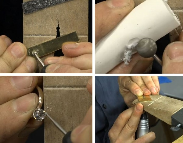 learn to use flex shaft attachments and burs with Andy Cooperman