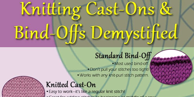 Knitting Cast On Techniques : Cast on knitting bind off methods ultimate