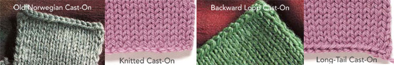 Knitting Cast On Stitches In Middle Of Row : Cast-On Knitting Instructions: How to Cast-on and Bind-Off, Free Guide Inte...