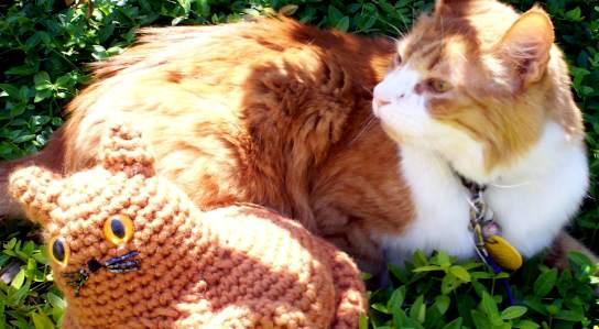 Fat Kitty Amigurumi