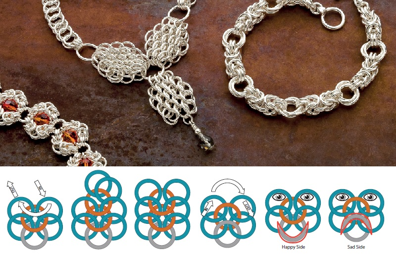 jewelry making gifts - chain maille