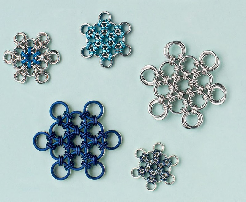 No Two Alike: Make Snowflake Ornaments and Jewelry with Wire, Metal, Gems, Even Scraps!