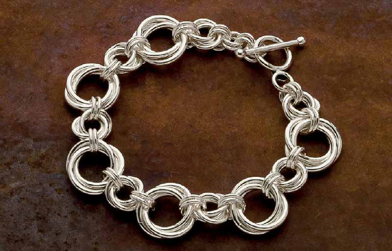 Learn chain maille jewelry making how to make a flower for Learn to draw jewelry