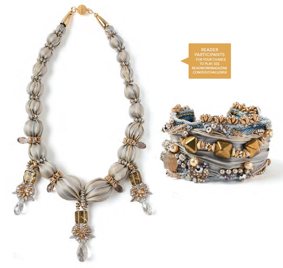 Name That Bracelet Challenge reader participants - L - by Teresa London; R - by Sheryl Stephens