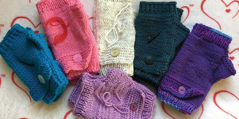 Warmth from a Maker's Hands: The Gift of Charity Knitting