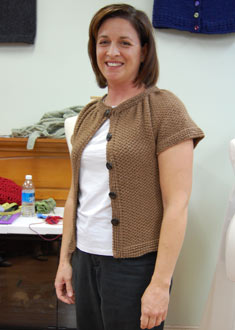Knitting Gallery - Stepping Stones Cardigan