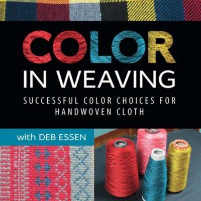 color in weaving deb essen