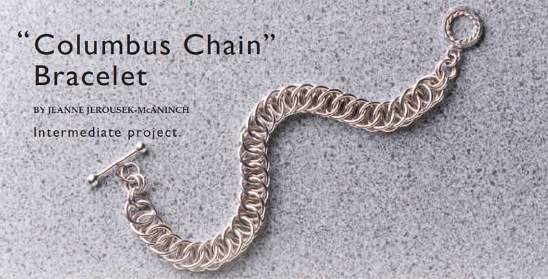 chain making: Columbus Chain