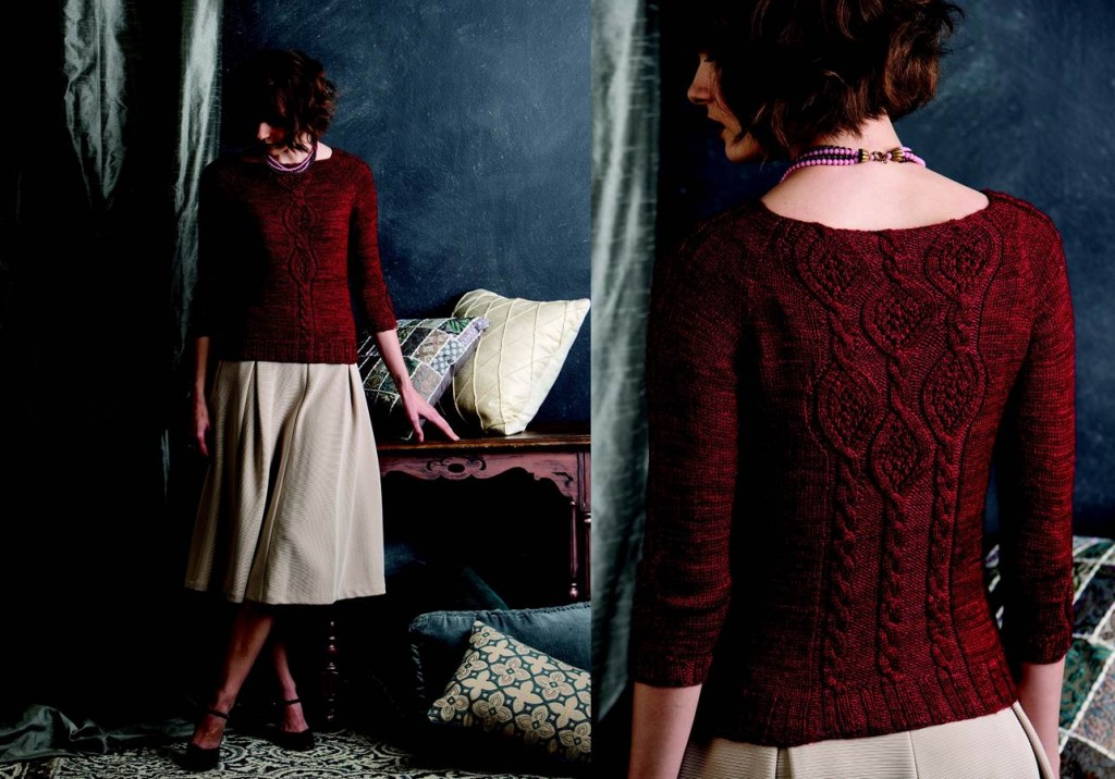 I love the Corinne Oval Pullover from the front. I also love it from the back.