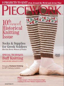 10th Annual Historical Knitting Issue