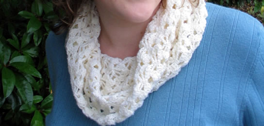 Crochet Pattern Baby Cowl : Free Cowl Pattern: Baby, its Cowled Outside! - Interweave