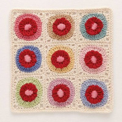 Crochet flowers bloom with the magic of a loom interweave crochet loom blooms fandeluxe Choice Image