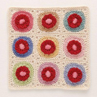 crochet loom blooms