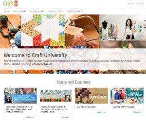 Step by step video instruction on how to master all your favorite crafts! From beading to weaving to knitting and everything in between, Craft University is your one-stop shop for learning!