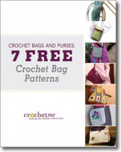 The 7 Free Crochet Bag Patterns eBook is perfect for those looking to new crochet bag patterns to complete.