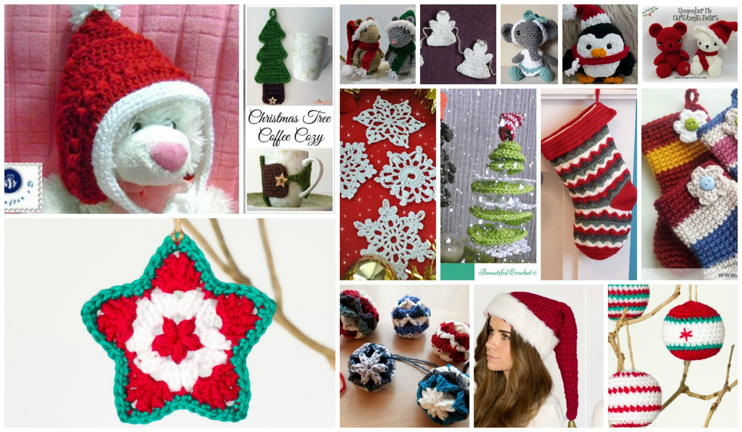 Crochet Christmas Ornaments: 15 Most Loved Ornaments ...