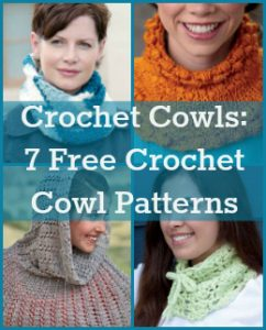 Free crochet cowls patterns for you!