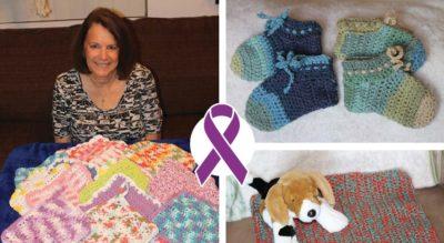 crochet slippers for pink slipper project