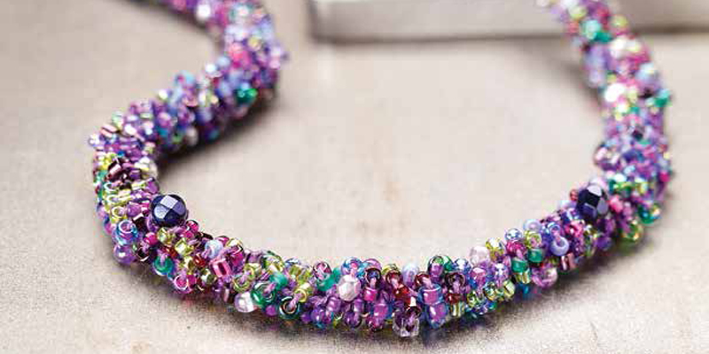 crochet jewelry with beads free patterns