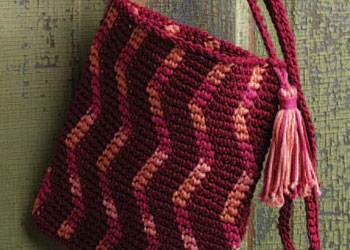 Tapestry Crochet Bag Pattern by Pam Allen
