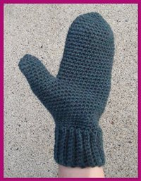 How to make crochet mittens with these expert instructions.