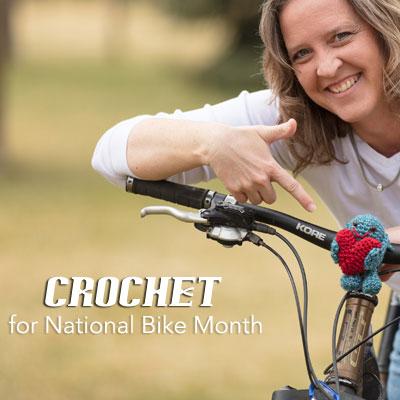 Handmade Fun for National Bike Month