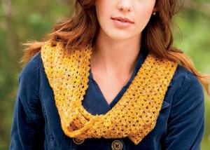 You'll love this crochet infinity scarf pattern that's both elegant and simple.