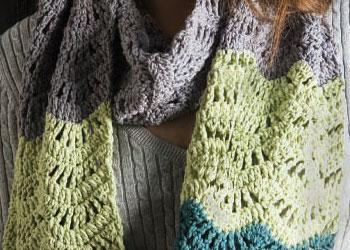 wool bamboo scarf