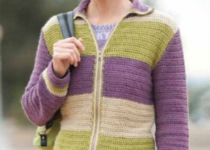 Crochet this Weekend Jacket pattern in our free ebook.