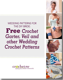 You'll love these FREE crochet wedding patterns for your or a friend's special day!