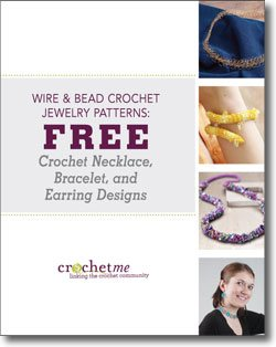 You'll love these FREE wire and bead crochet jewelry patterns!