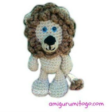 Free Lion Crochet Pattern Interweave