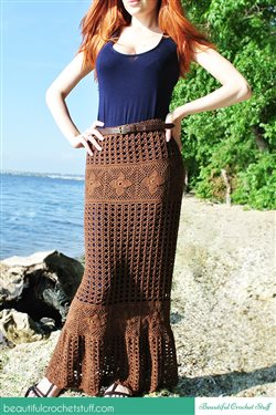 Free Crochet Dress and Skirt Patterns