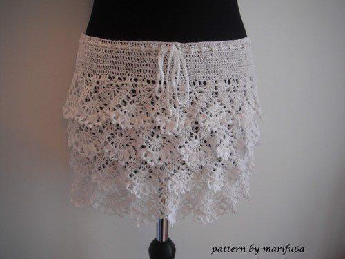 How To Crochet Ruffle Skirt Free Pattern Tutorial Interweave