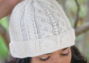Learn how to crochet cables in this free crochet hat pattern.