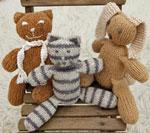 Knitted Cuddlies