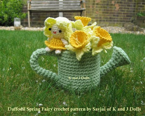 Crocheted Daffodil Spring Fairy - Interweave