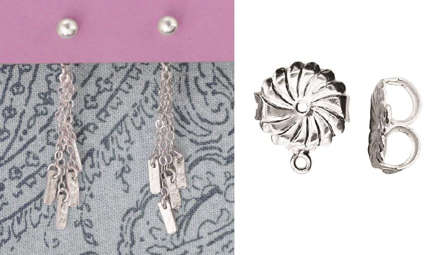 perk up earrings with dangles