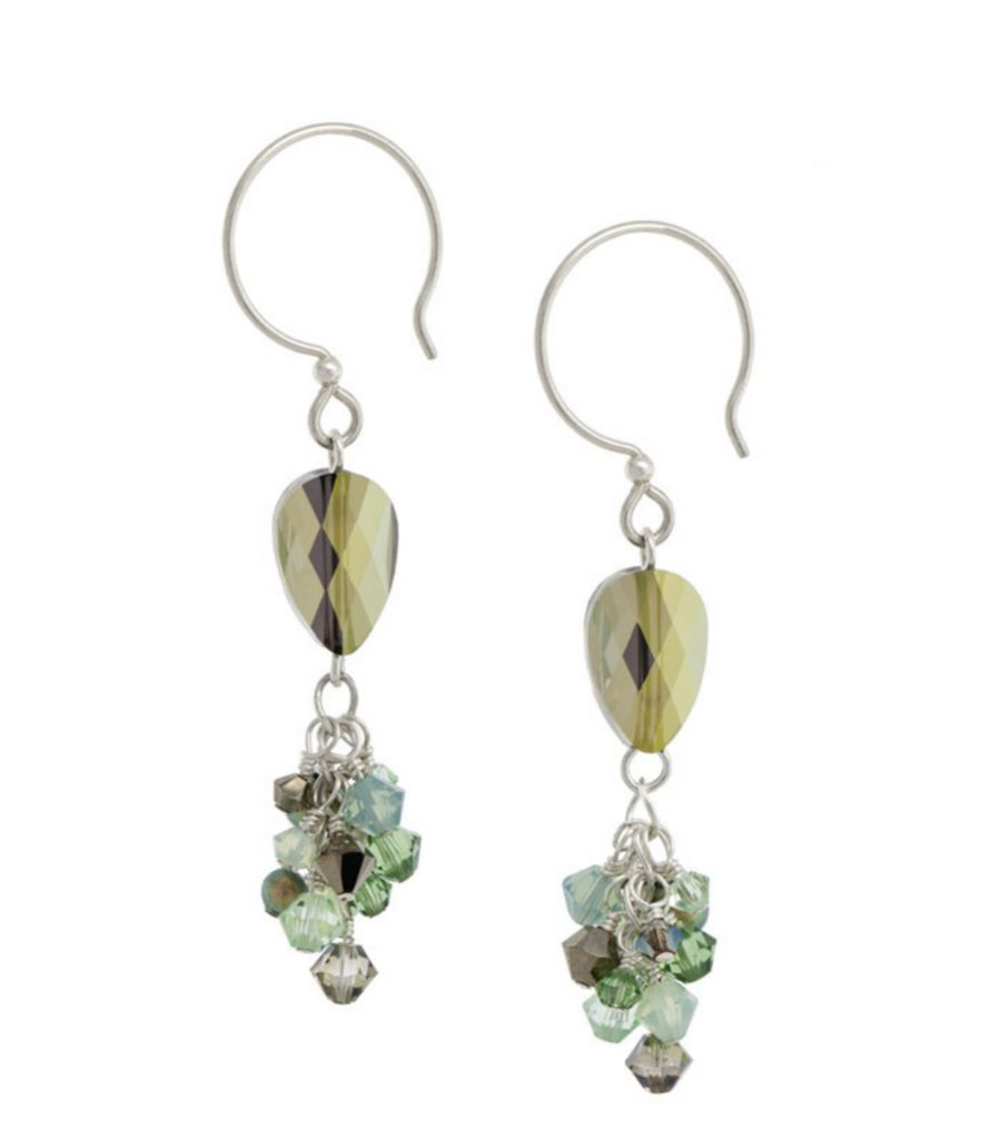 Make It Sparkle! By Lindsay Burke beaded jewelry making book. Dazzling Earrings