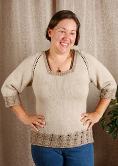 Knitting Gallery - Dirndl Raglan Amy