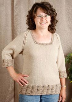 Knitting Gallery - Dirndl Raglan Debbie
