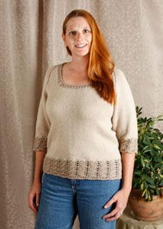 Knitting Gallery - Dirndl Raglan Kat