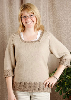Knitting Gallery - Dirndl Raglan Toni