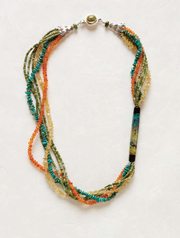 You'll love making this bead stringing project in this free Native American beadwork eBook.