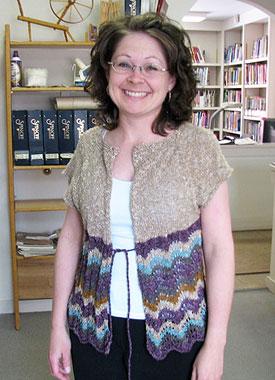 Knitting Gallery - Drawstring Raglan Debbie